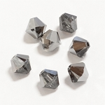 Crystal Silver Night 3mm Swarovski Xilion Bicone, Pkg. of 24