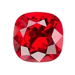 10mm LIGHT SIAM Swarovski Cushion Cut Fancy Stone