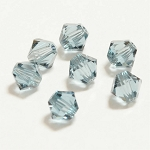 Indian Sapphire 3mm Swarovski Xilion Bicone, Pkg. of 24