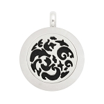 Mini 20mm Magnetic Stainless Steel Essential Oil Diffuser Locket with Fantasy Design
