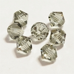 Black Diamond 3mm Swarovski Xilion Bicone, Pkg. of 24