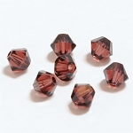 Burgundy 3mm Swarovski Xilion Bicone, Pkg. of 24