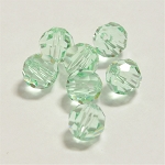 Chrysolite 6mm Swarovski Faceted Round, Pkg. of 12
