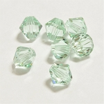 Chrysolite 3mm Swarovski Xilion Bicone, Pkg. of 24