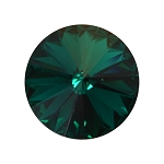 18mm EMERALD Swarovski Crystal Rivoli