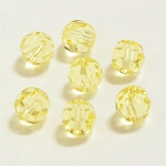 Jonquil 6mm Swarovski Faceted Round, Pkg. of 12