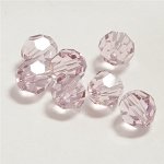 Light Amethyst 6mm Swarovski Faceted Round, Pkg. of 12