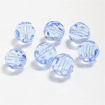Light Sapphire 8mm Swarovski Faceted Round, Pkg. of 6