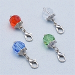 10mm Crystal Birthstone Dangle for Floating Locket