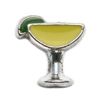 Yellow Margarita Charm
