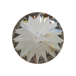 SS39 CRYSTAL SILVER NIGHT Swarovski Crystal Rivoli, Pkg. of 12