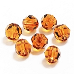 Smoked Topaz 6mm Swarovski Faceted Round, Pkg. of 12