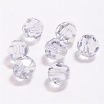 Smokey Mauve 6mm Swarovski Faceted Round, Pkg. of 12