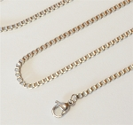 20 Inch Stainless Steel Box Chain for Floating Locket