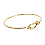 TierraCast Gold Bangle Bracelet