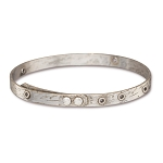 TierraCast Tin Oxide Bangle Bracelet