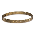 TierraCast Brass Oxide Bangle Bracelet