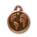 TierraCast Earth Drop, Antique Copper
