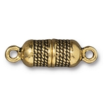 TierraCast Rope Magnetic Clasp, Antique Gold