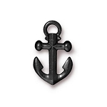 TierraCast Anchor Charm, Black