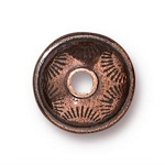 TierraCast Western Bead, Antique Copper