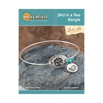TierraCast Bird in a Tree Bangle Bracelet Kit