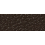 TierraCast Cocoa Leather Strip, 1/2 x 10 Inches