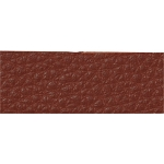 TierraCast Rust Leather Strip, 1/2 x 10 Inches
