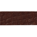 TierraCast Cognac Hornback Leather Strip, 1/2 x 10 Inches