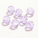 Violet 6mm Swarovski Faceted Round, Pkg. of 12