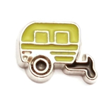 Yellow Camper Charm