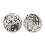 TierraCast Flora Pendant, Antiqued Pewter