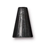 TierraCast Tall Radiant Cone, Black