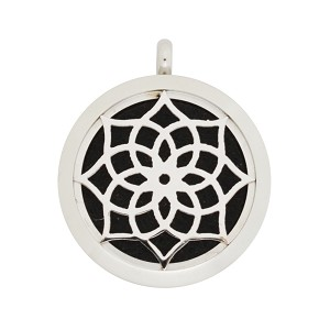30mm Magnetic Stainless Steel Essential Oil Diffuser Locket