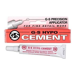 G-S Hypo Cement with Precision Applicator Tip, 1/3 Ounce Tube