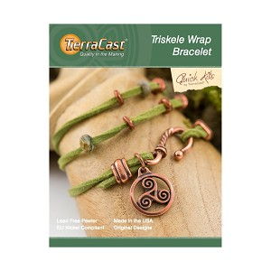 TierraCast Triskele Wrap Bracelet Kit