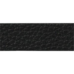 TierraCast Black Leather Strip, 1/2 x 10 Inches