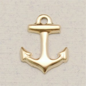 14Kt Gold-filled Anchor Charm