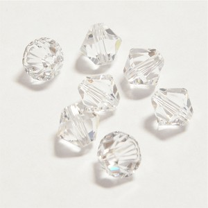 Crystal 6mm Swarovski Xilion Bicone, Pkg. of 12