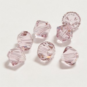 Light Amethyst 5mm Swarovski Xilion Bicone, Pkg. of 12
