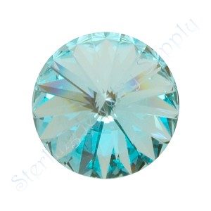14mm LIGHT TURQUOISE Swarovski Crystal Rivoli