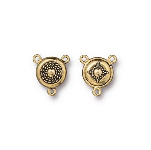 TierraCast Opulence Magnetic Clasp, Antique Gold