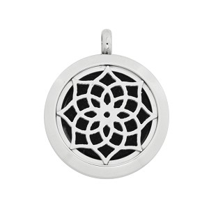 25mm Magnetic Stainless Steel Essential Oil Diffuser Locket