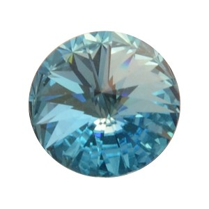 14mm AQUAMARINE Swarovski Crystal Rivoli