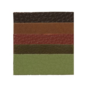 TierraCast Earth Mix Leather Strips, 5-Piece Mix, 1/2 x 10 Inches
