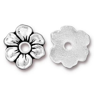 TierraCast Apple Blossom Rivetable, Antique Silver